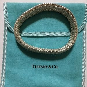 Tiffany & Co Sterling Silver Mesh Bracelet